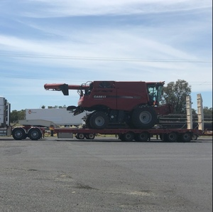 Low loader Quad Axle