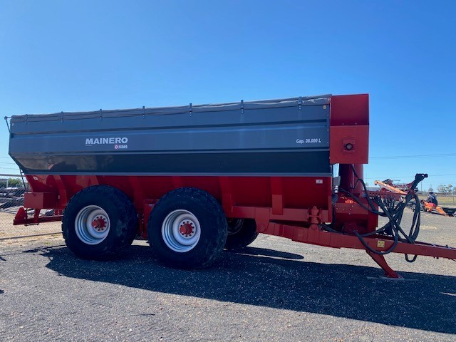Under Auction - (A135) - New Mainero 5361 Grain Cart / Chaser Bin - 2% + GST Buyers Premium On All Lots