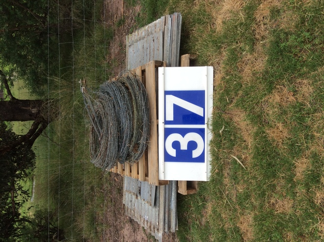 (A129) - 20 Used Iron Sheets x 6 Ft