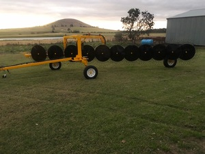 New Inline Hayrake Elsworth