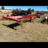 single axle skel trailer