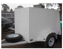 Trailer 7ft x 5 ft Van Type Suitable For Band Equipment