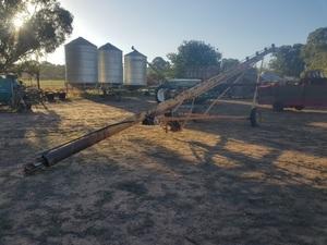 42 ft x 8 inch grain auger