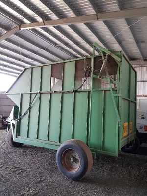 Under Auction - (A140) - Riteway Chaff Cart - 2% + GST Buyers Premium On All Lots