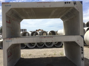 4 x Concrete Box Culverts (New)