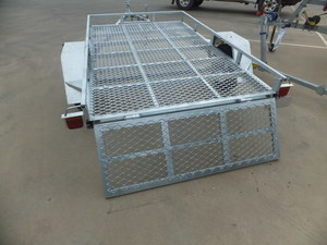 2016 ATV GALVANISED 8 X 5 TILT TRAILER NEVER REGISTERED
