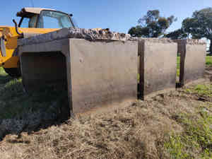 Concrete box Culverts set of 3