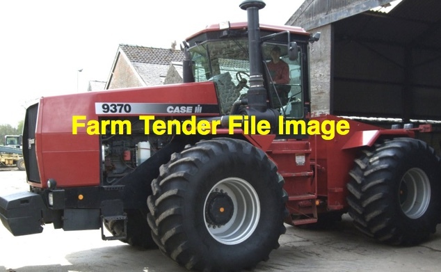 WANTED Case IH 9370 or 9380 Quadtrac in parts or running gear.