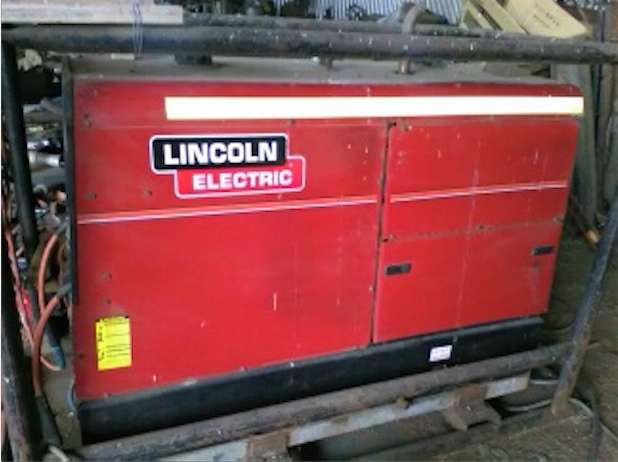 LINCOLN VANTAGE 575 WELDER / 20KVA GENERATOR FOR SALE
