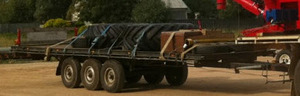 Tri Axle Flat Top Trailer, Must Sell!