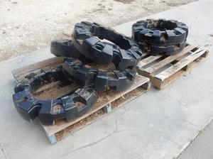 6 x 227kg New Wheel Weights