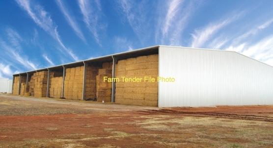 Wheaten Hay 8x4x3 8 String Bales 680-700 Kg's
