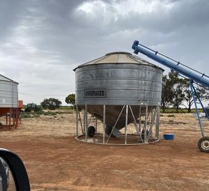 WANTED 20-30 tonne Transportable Field Bin
