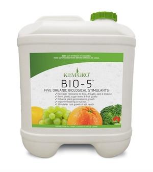 BIO - 5 FIVE ORGANIC BIOLOGICAL STIMULANTS