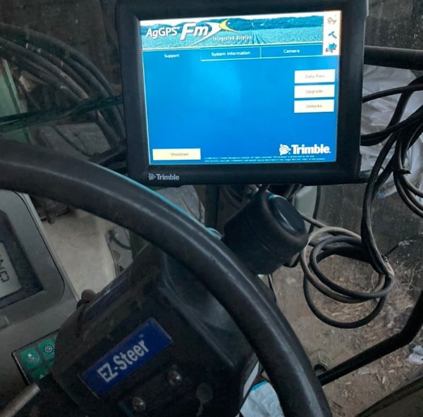 Trimble FMX1000 Screen and Ezy steer
