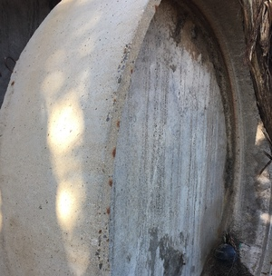 Round Concrete Stock Water Troughs