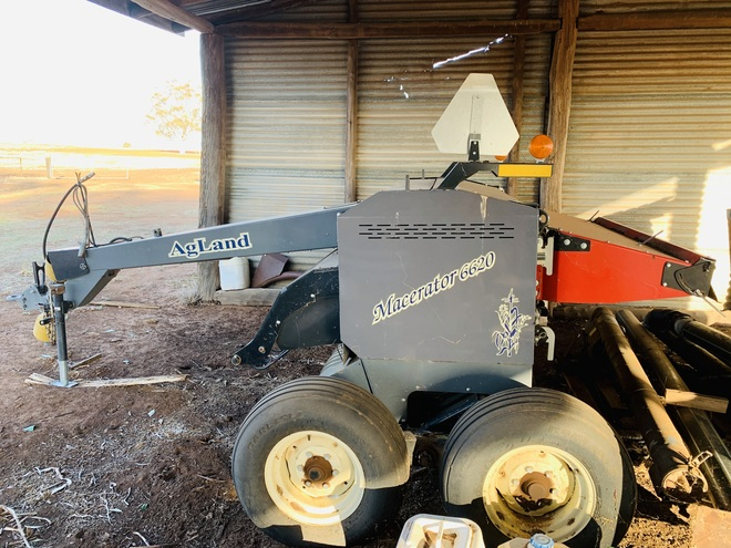 AgLand Macerator 6620 200 Ha old