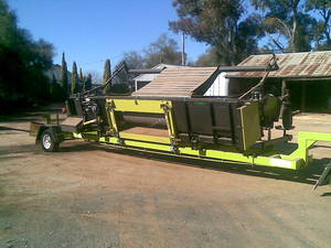 Smale Canola Pick Up Front and Trailer