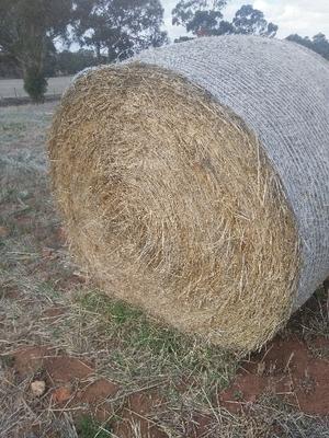 Barley Hay 5x4 Round Bales