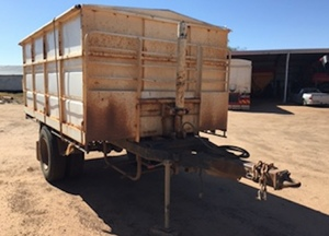 Howard Porter single axle trailer