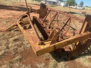 13 Foot   Moree Rural Engineer Co Rock Stick Rake