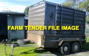 WANTED Tandem Stock Trailer