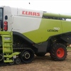 2013 Claas Lexion 760 Header on Tracks with 40ft MacDon Front