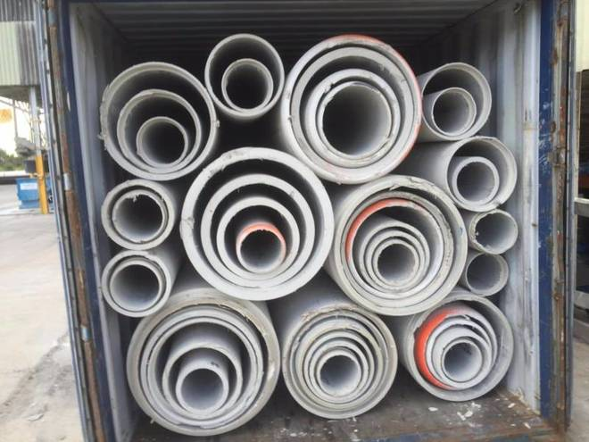 Concrete Drainage Pipes + 20 ft Container (Single Sales Also)