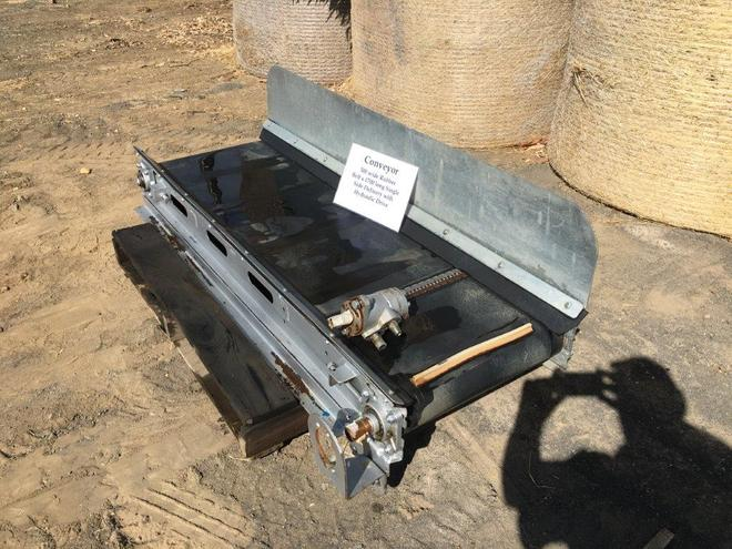 Conveyor 500 wide Rubber belt 1500 Long