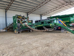 46ft Kelly Chain with P J Greens Seedbox