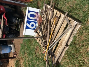 Under Auction - (A129) - Old Tools - 2% + GST Buyers Premium On All Lots