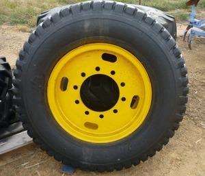 Grader rim & tyre 24