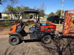 Under Auction - Kubota RTV 400  - Auction on now, ends 19/10/19 at 11 am - 2% + GST Buyers Premium On All Lots