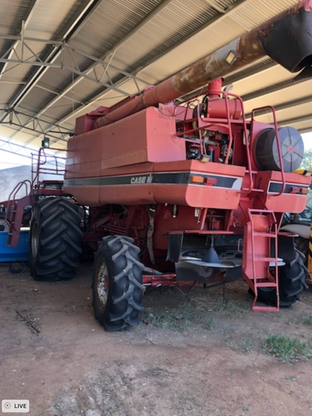 1996 Case IH 2188 4WD Header