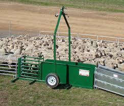 WANTED Portable Sheep Yard Trailer Only