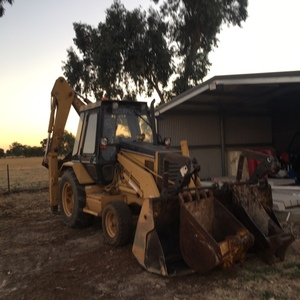 CAT 428B Backhoe
