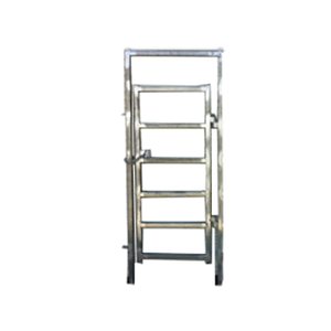 Under Auction - (A131) - 2 x New Single Man Gate-In-Frame - 2% + GST Buyers Premium On All Lots