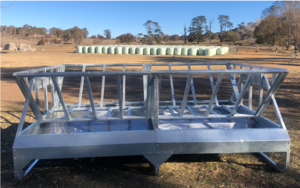 Under Auction - (A131) - New Hay Double Tray Feeder - 2% + GST Buyers Premium On All Lots