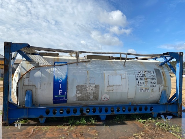 17,500 litre Stainless Steel Tank