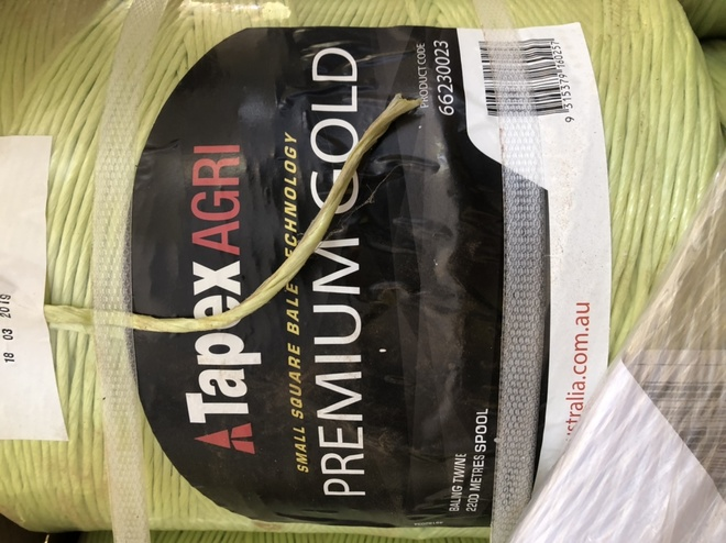 Tapex Gold Small Square Bale String