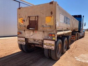 Panther Tri-Axle Tipper Trailer