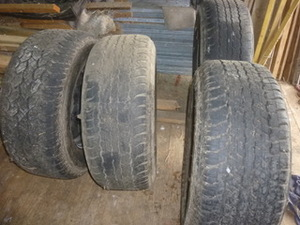 2011 Toyota Landcruiser Wheels and Tyres