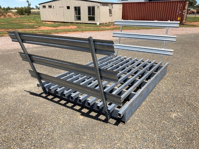 Brand New Cattle Grid with Wings