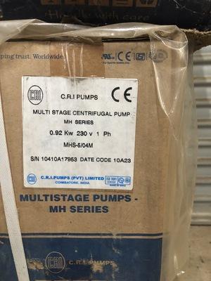 CRI Centrifugal Pumps