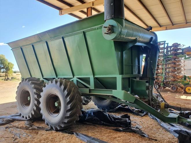 18/20 ton Chaser Bin