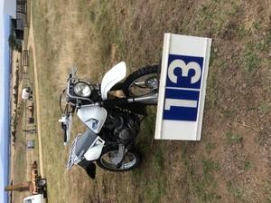 Under Auction - Suzuki DR200 Motorbike - 2% + GST Buyers Premium On All Lots