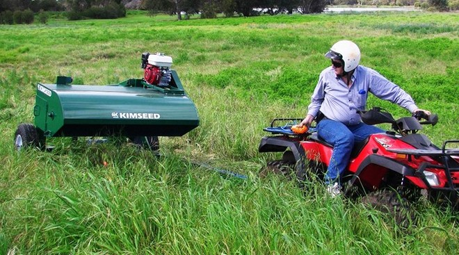 1.3 metre ATV Brush Harvester