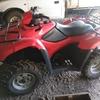 Under Auction - Honda 2012 ATV - 2% + GST Buyers Premium On All Lots