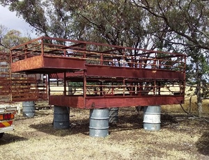 2 Deck 15ft Sheep Stockcrate