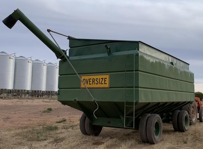45 Tonne Field Bin - Price Negotiable